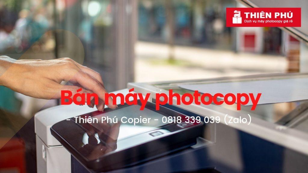 Chuyên bán mua máy photocopy giá rẻ tại TPHCM