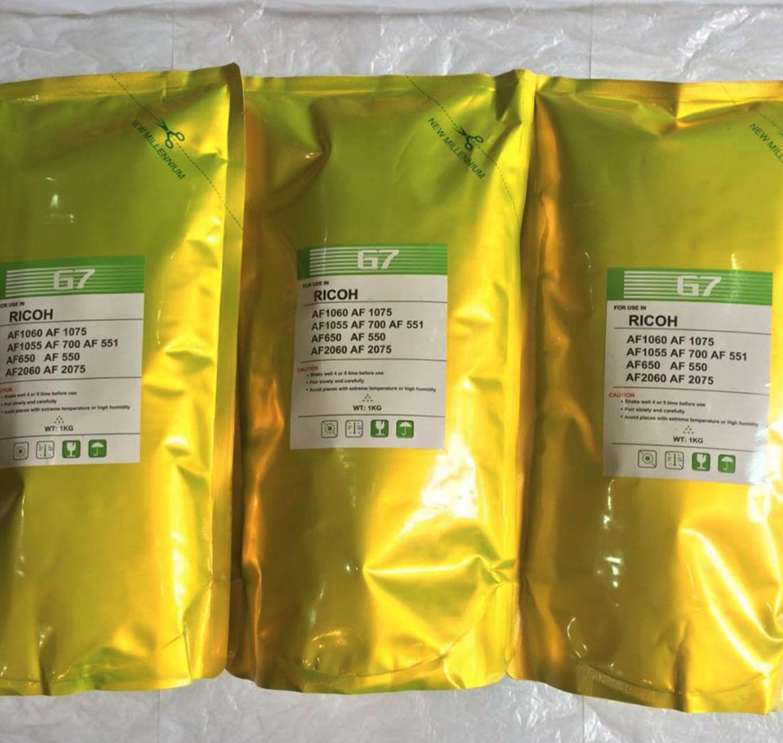 Mực túi G7 cho các dòng máy photocopy Ricoh đen trắng