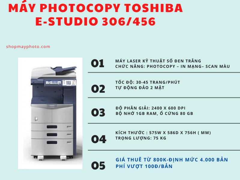 Bảng giá cho thuê máy photocopy