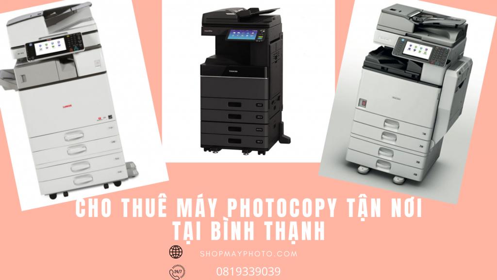 Cho thuê máy photocopy tại Bình Thạnh
