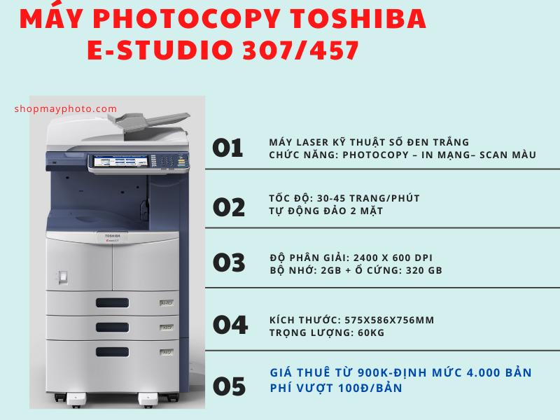 Bảng giá cho thuê máy photocopy giá rẻ tại Bình Thạnh