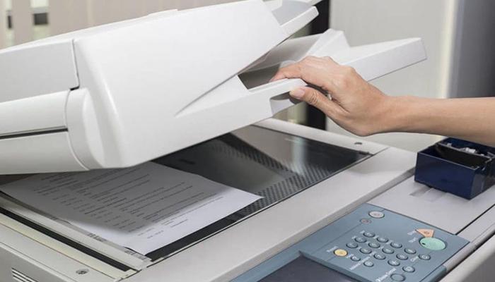 Cách khắc phục máy photocopy Ricoh bị mờ bản in