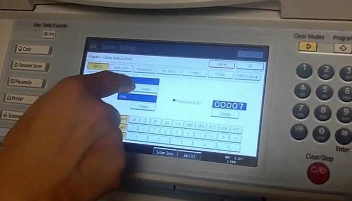 Cách scan tài liệu từ máy photocopy Ricoh