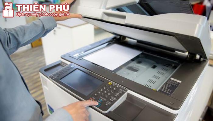 Cách sử dụng máy photocopy để copy tài liệu