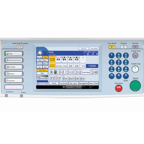 màn hình máy photocopy Ricoh MP 4001