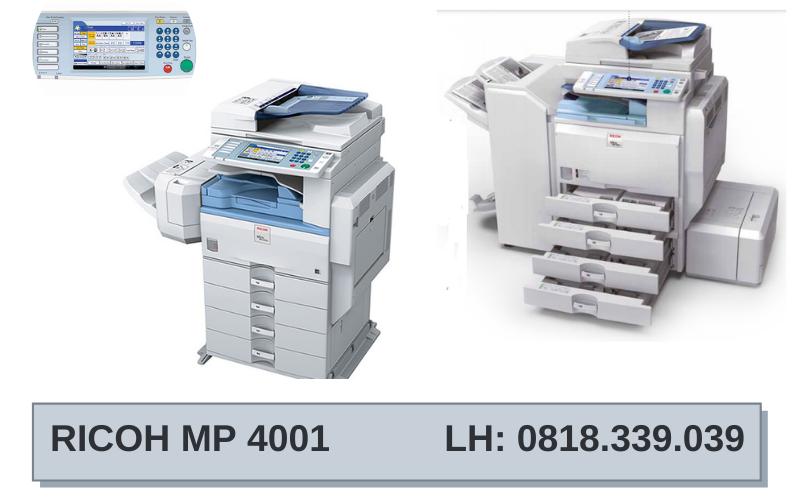 Bán máy photocopy Ricoh MP 4001